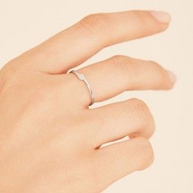 Unity silver ring hand