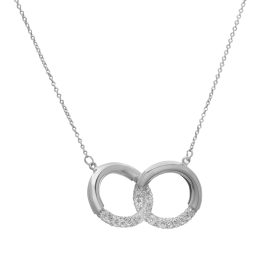 Collar plata Eternity