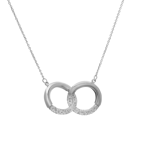 Eternity Silver necklace