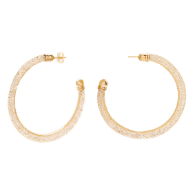 Mirage gold earrings