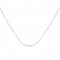 Glow silver necklace
