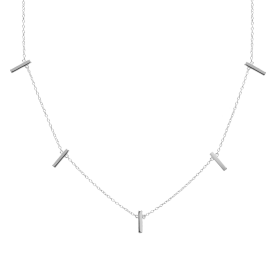 Kyara silver necklace