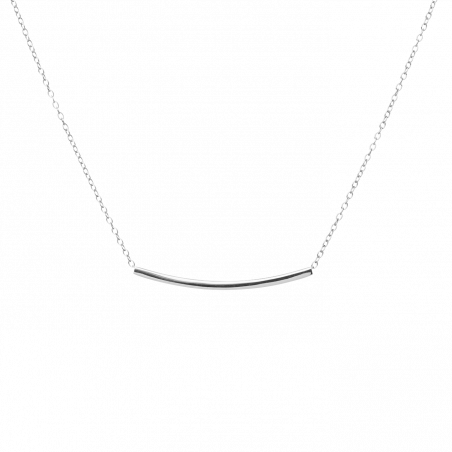 Pam silver necklace