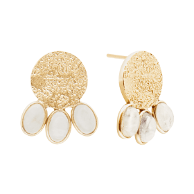 Lunar Etnic Gold earrings