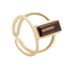 Smoky Spirit Gold ring