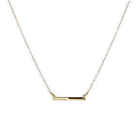Elemental gold necklace