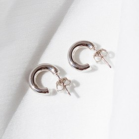 Basic Silver Earrings