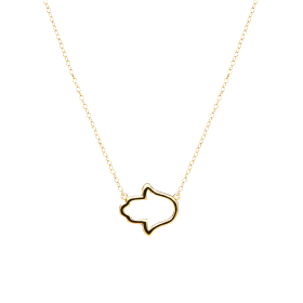 Fatima gold necklace