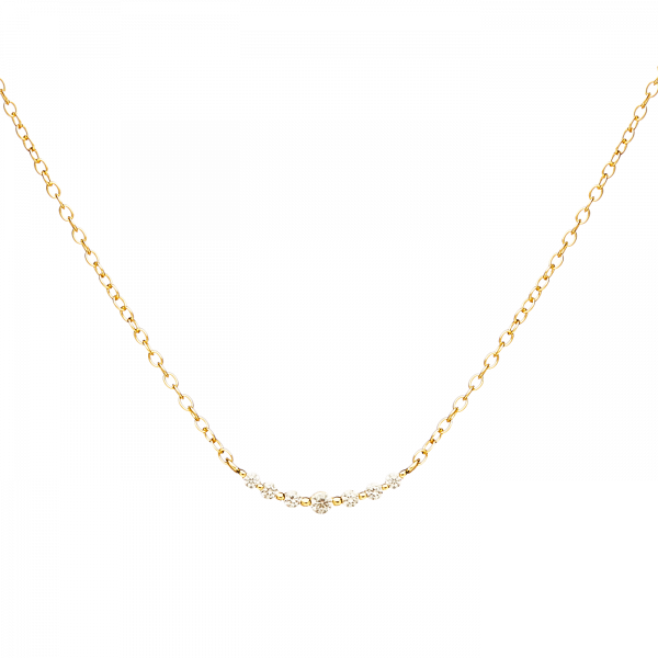 Glow gold necklace