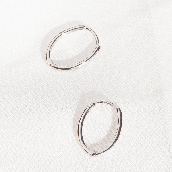 Sterling silver earrings Lite