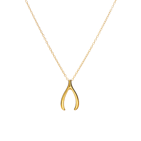 Pitch gold necklace