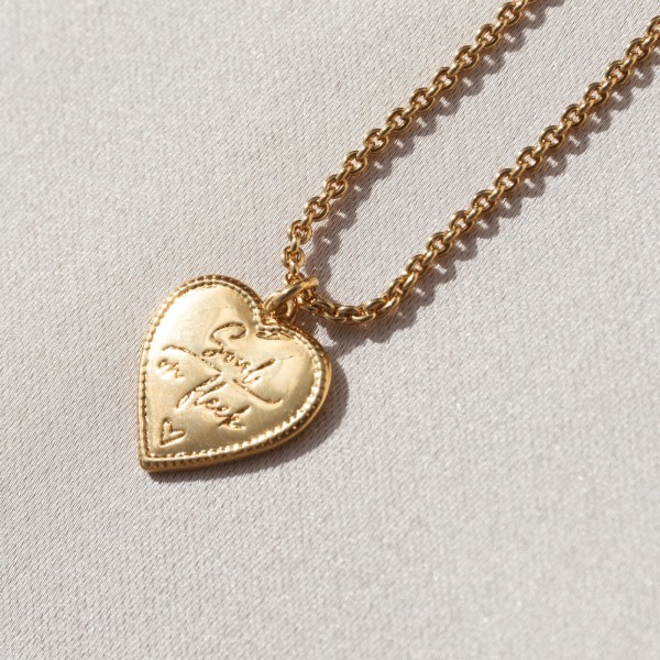 Vintage heart necklace SOF