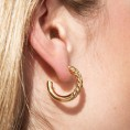 gold hoops Euphoria 2
