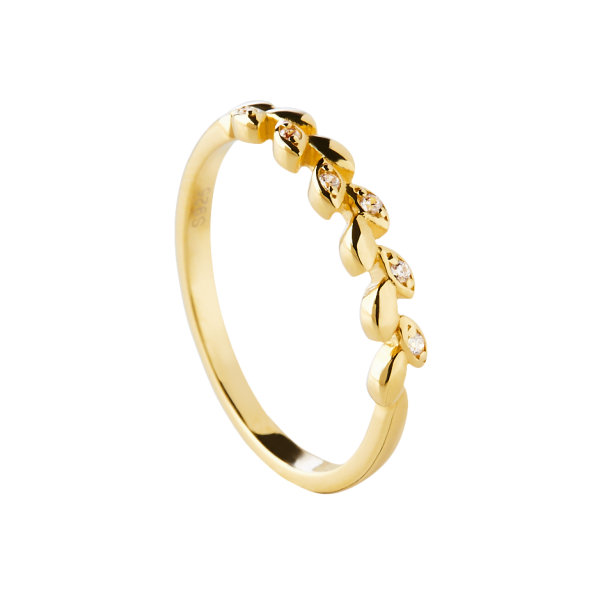 Laurea gold ring