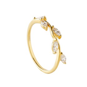 Belle gold ring